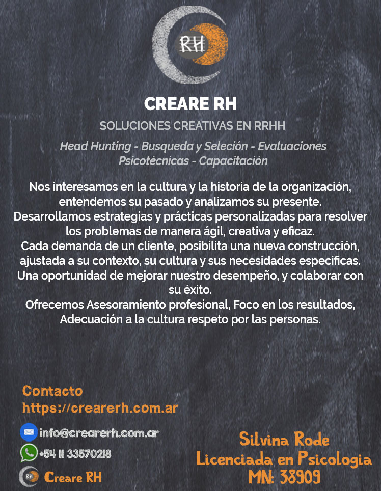Creare RH Soluciones Creativas en RRHH