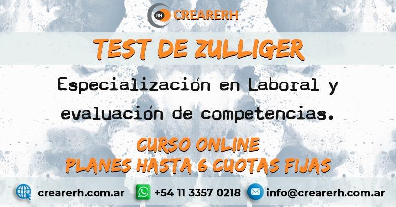 Test de Zulliger aplicado a evaluación de competencias laborales