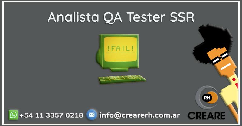 Analista QA Tester Ssr. (Hire)