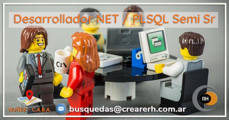 Desarrollador .NET/PLSql Ssr. (Hire)