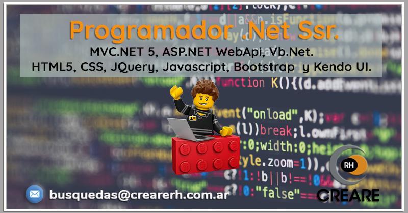 Programador NET Semi Sr (Hire)