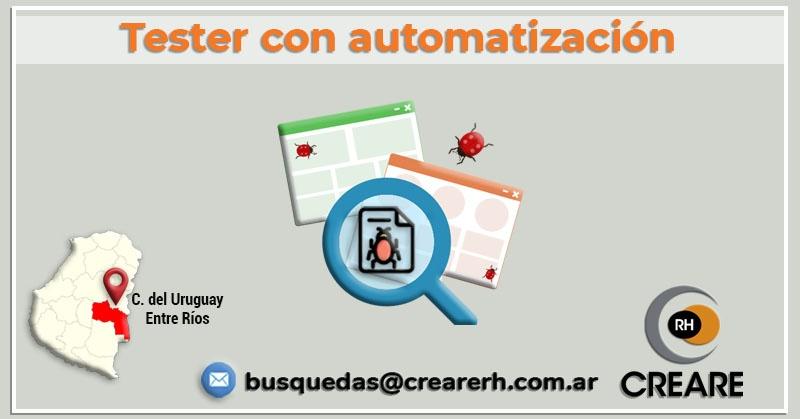 Tester con automatización (Hire)