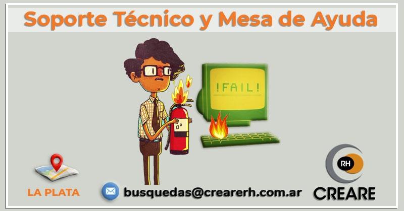 Soporte Técnico y Mesa de Ayuda (La Plata) (Hire)